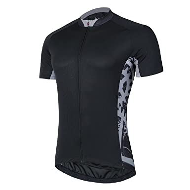 ... Amazon com Mens Cycling Jerseys Short Sleeves Bike Shirts Full Zip ab5ac9b30