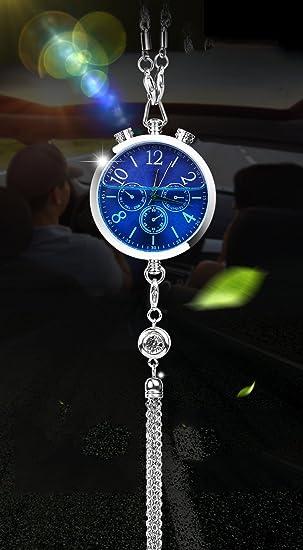 Coche Reloj Reloj Perfume Colgante Aceite Esencial Perfume Montado En El Coche Creativo Perfume Del Coche