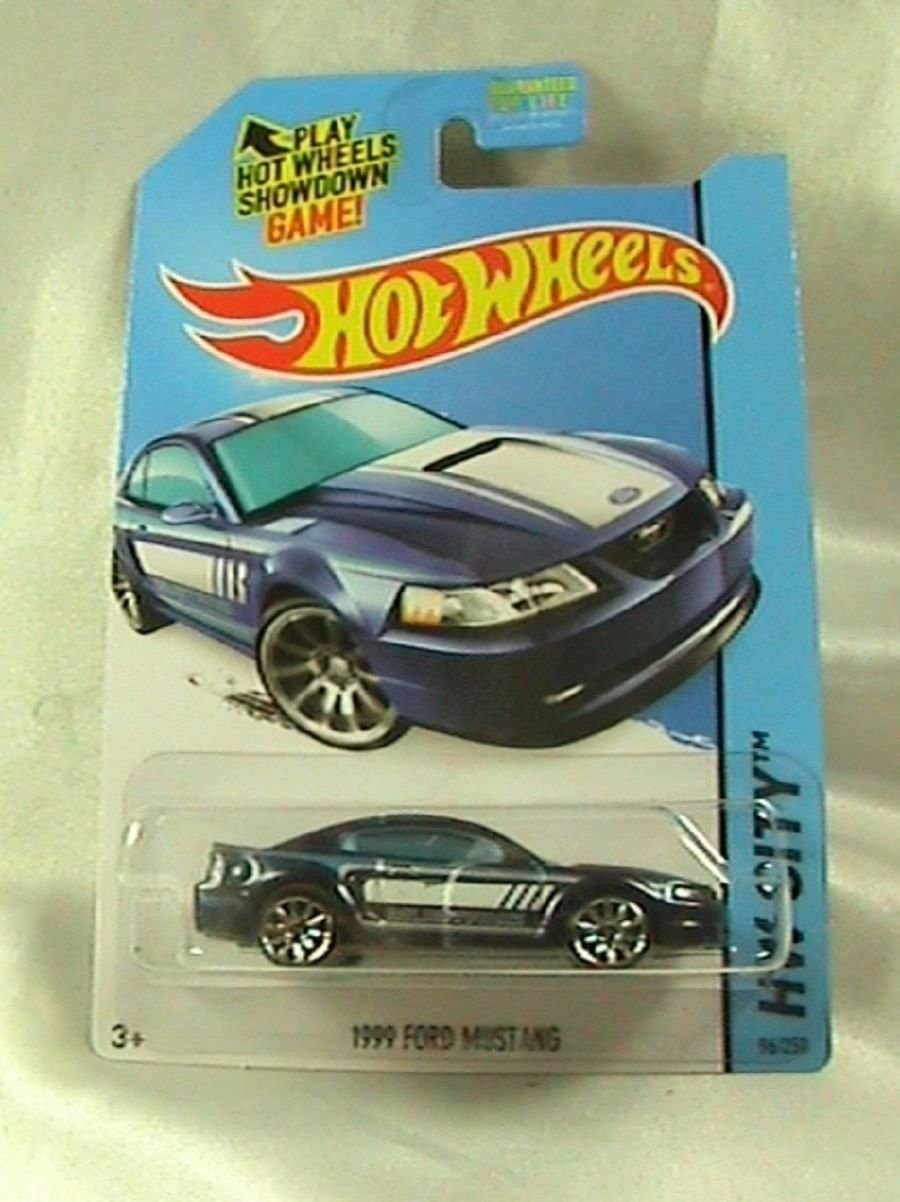 2014 Hot Wheels Hw City 96/250 - Ford Mustang de 1999