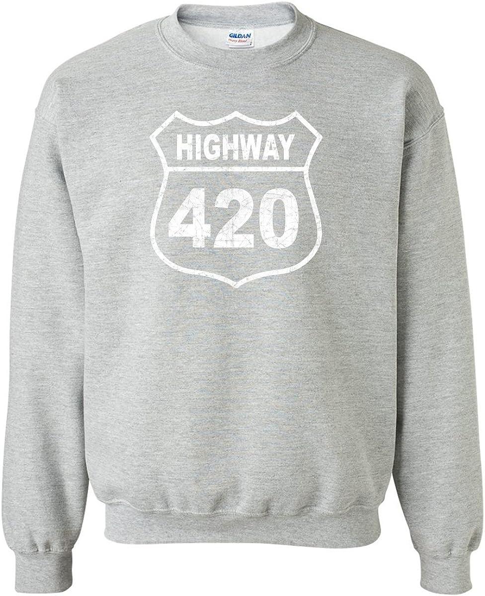 zerogravitee Highway 420 Crewneck Sweatshirt