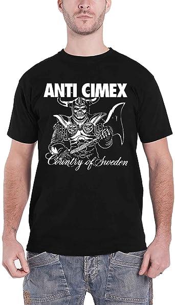 Anti Cimex Country of Sweden Camiseta: Amazon.es: Ropa y accesorios