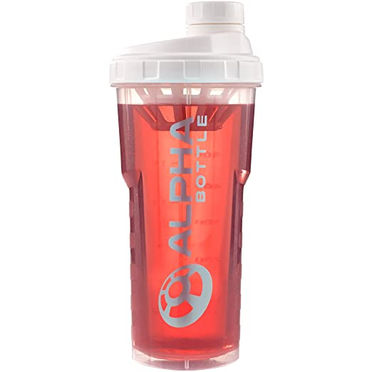60 opinioni per Alpha Bottle 750ml proteine shaker (bianco)