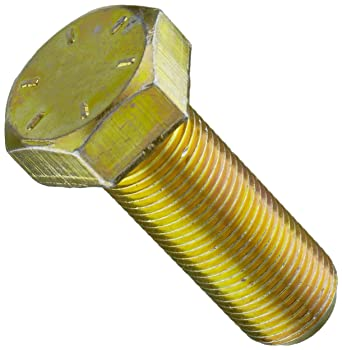 1//2-13 1//2-13 3//4 Length Grade 9 Yellow Chromate Alloy Steel Hex Bolt Pack of 10 3//4 Length Pack of 10 Small Parts
