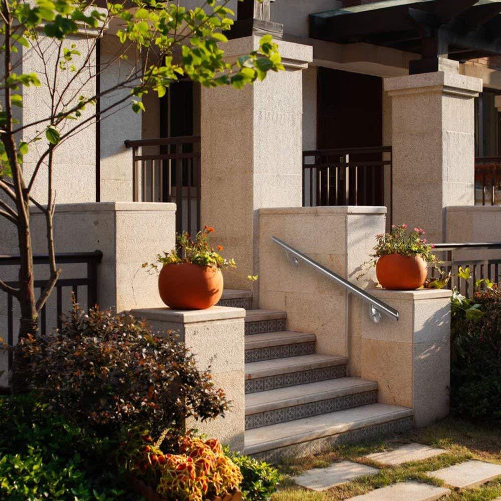 Pasamanos de acero inoxidable escaleras balc/ón soporte de pared para interiores y exteriores balaustrada Pasamanos McTech/®