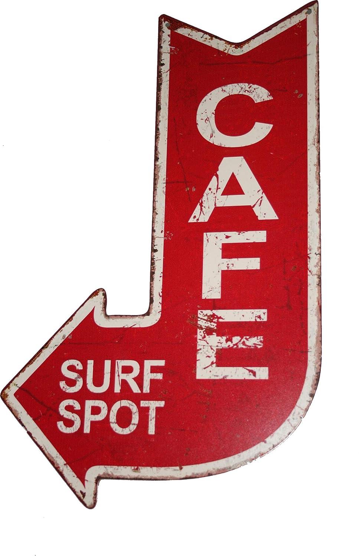 Moritz Cartel de Chapa Cafe Way out, Estilo Antiguo, con ...
