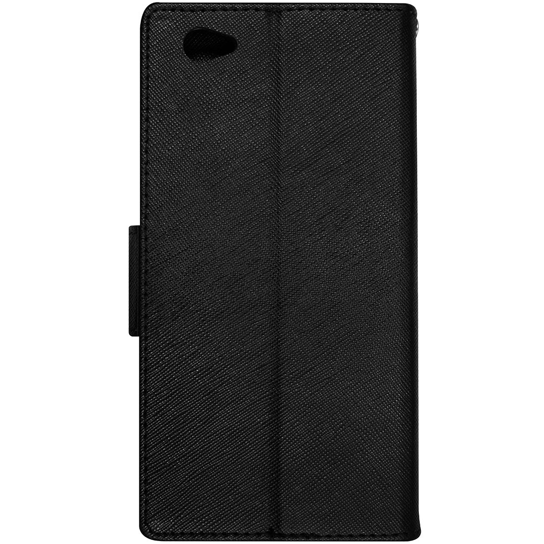 Casotec Goospery Fancy Diary Wallet Flip Case Cover For Iphone X Black Brown Electronics