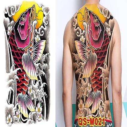 3 piezas Etiqueta engomada del tatuaje a prueba de agua Etiqueta ...