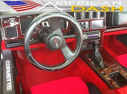 Amazoncom Chevrolet Chevy Corvette C 4 Interior Wood Dash Trim Kit