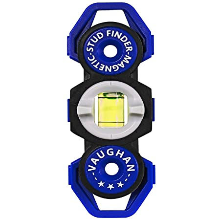 Vaughan 1 Pack Magnetic Stud Finder Pocket Sized No Batteries Needed – 050044