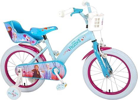16 Pulgadas Bicicleta infantil Frozen bicicleta Triciclo Disney ...