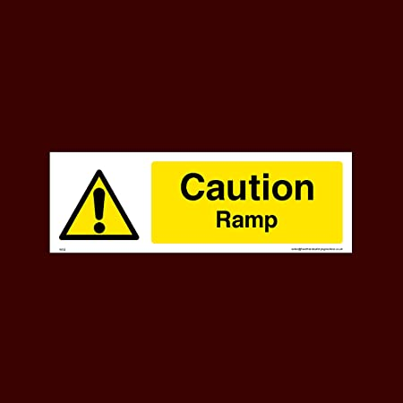 Caledonia Signs 57647 Road Works Fold Up Triangle Sign Occupational Health & Safety Products 750 mm Occupational Health & Safety Products