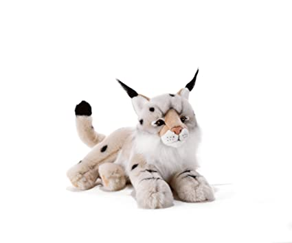 Plush & Company Plush & Company15743 40 cm Vasaky Snow Lynx Plush Toy by Plush &