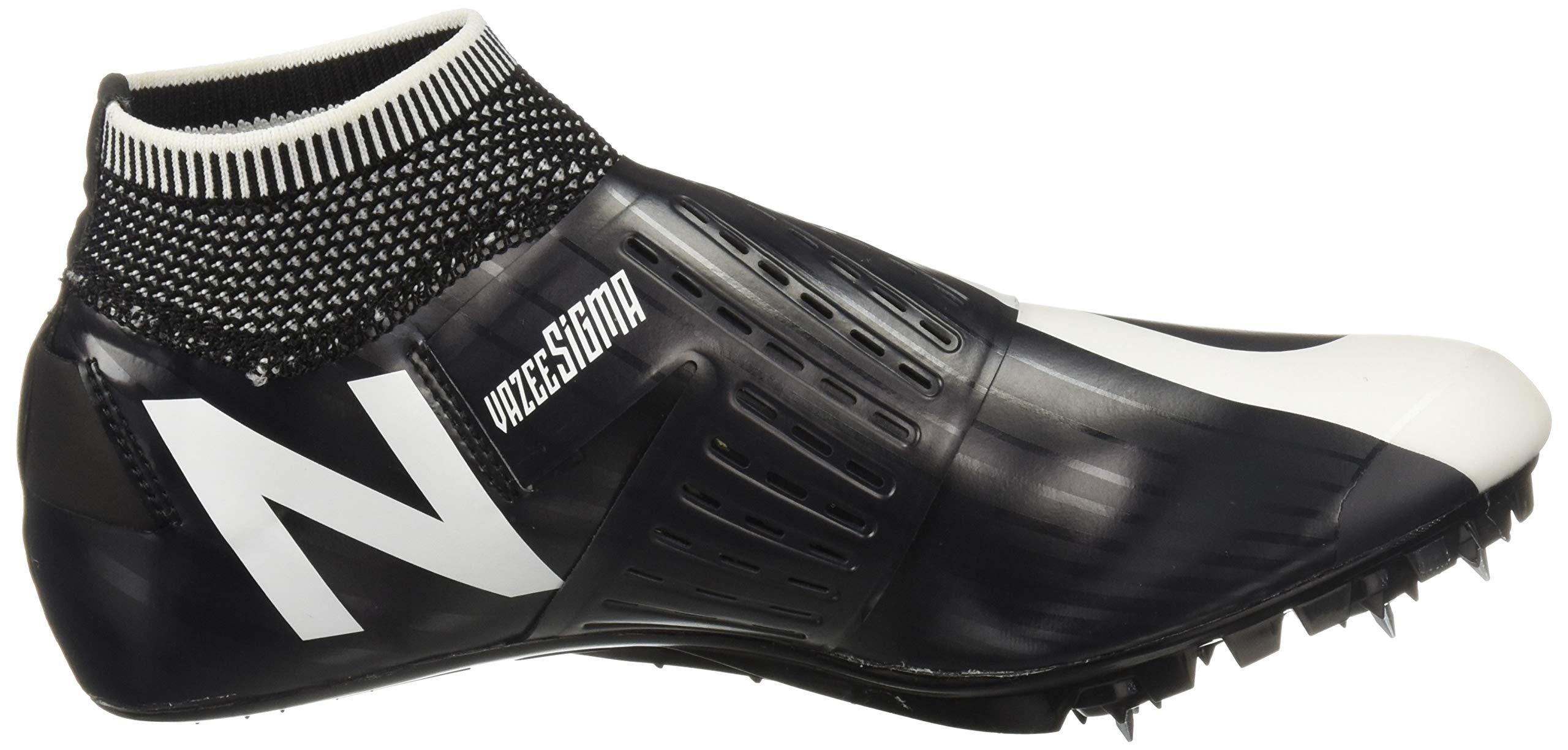 New Balance Men's Sigma V2 Vazee Track Shoe White/Black 4 D US by New Balance (Image #7)