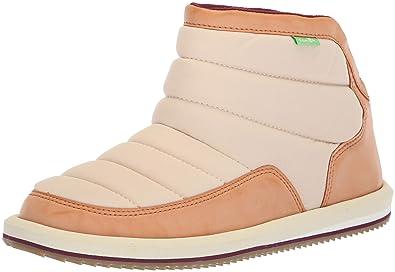 5d5d05161fba5a Sanuk Women s Puff N Chill Malia Ankle Boot Sand Dollar 05 ...