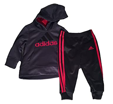 Amazon.com  Adidas Hoodie   Pant 2 Piece Active Set for Boys (5 ... ffb7d09a1