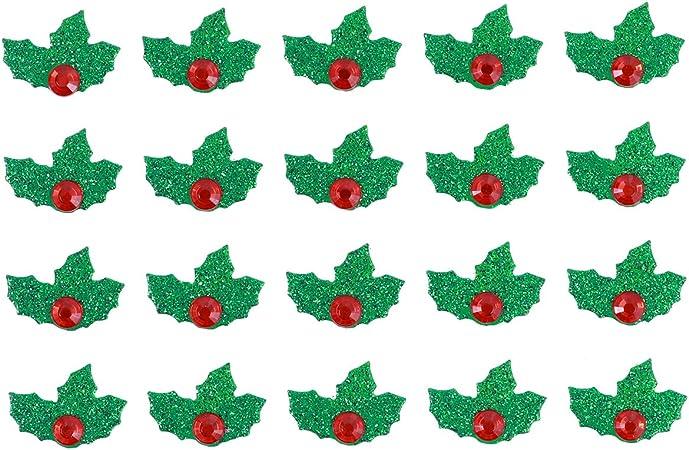 Agrifoglio Immagini Natalizie.Amosfun 5 Fogli Verdi E Rossi Natalizi Adesivi Agrifoglio Natalizi Vacanza Agrifoglio Lascia Adesivi Fai Da Te Adesivi Decorativi Di Natale Amazon It Casa E Cucina