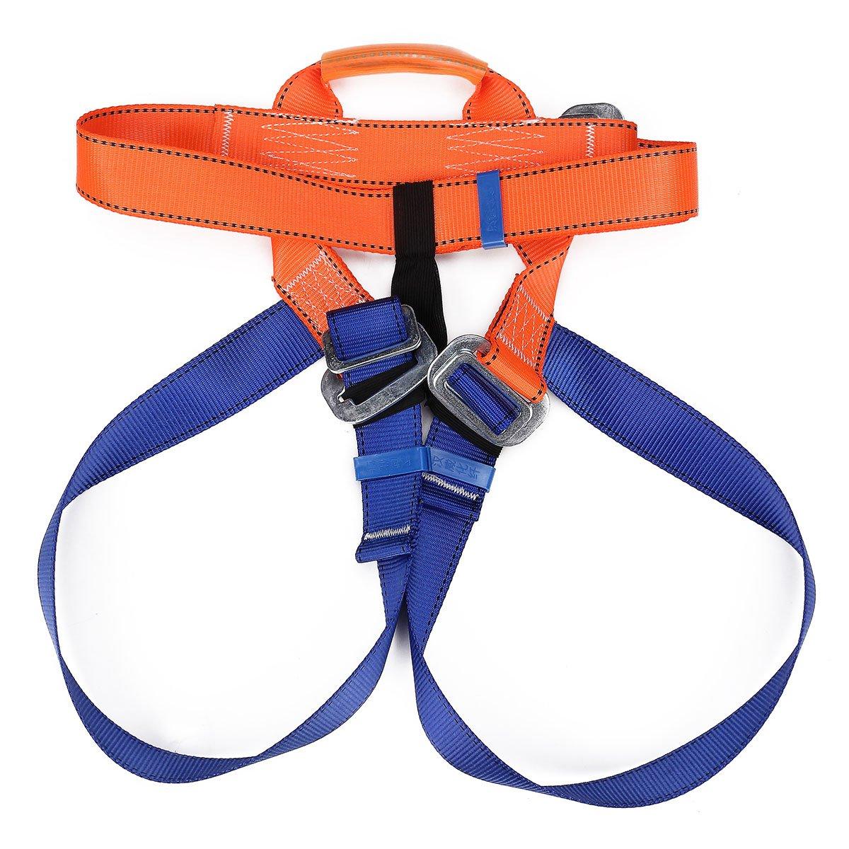 QOJA outdoor rock climbing safety belt strap harness bust waist