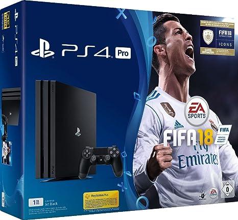 PlayStation 4 Pro (PS4) - Consola de 1 TB + FIFA 18 (Importación ...