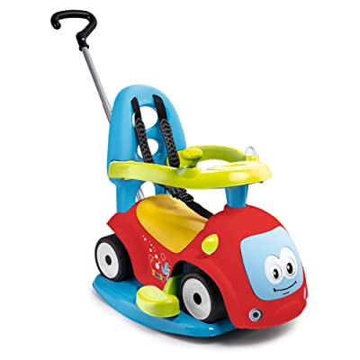 "Smoby 7600720302 ""Maestro Balade 4-in-1"" Push-Along/Ride-On Car: Toys & Games"