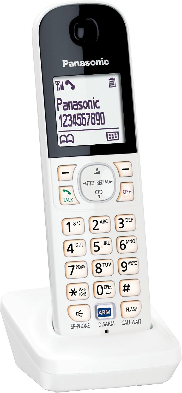 Panasonic kx-hnh100 W Digital inalámbrico auricular para Smart Home sistema de vigilancia (color blanco): Amazon.es: Electrónica