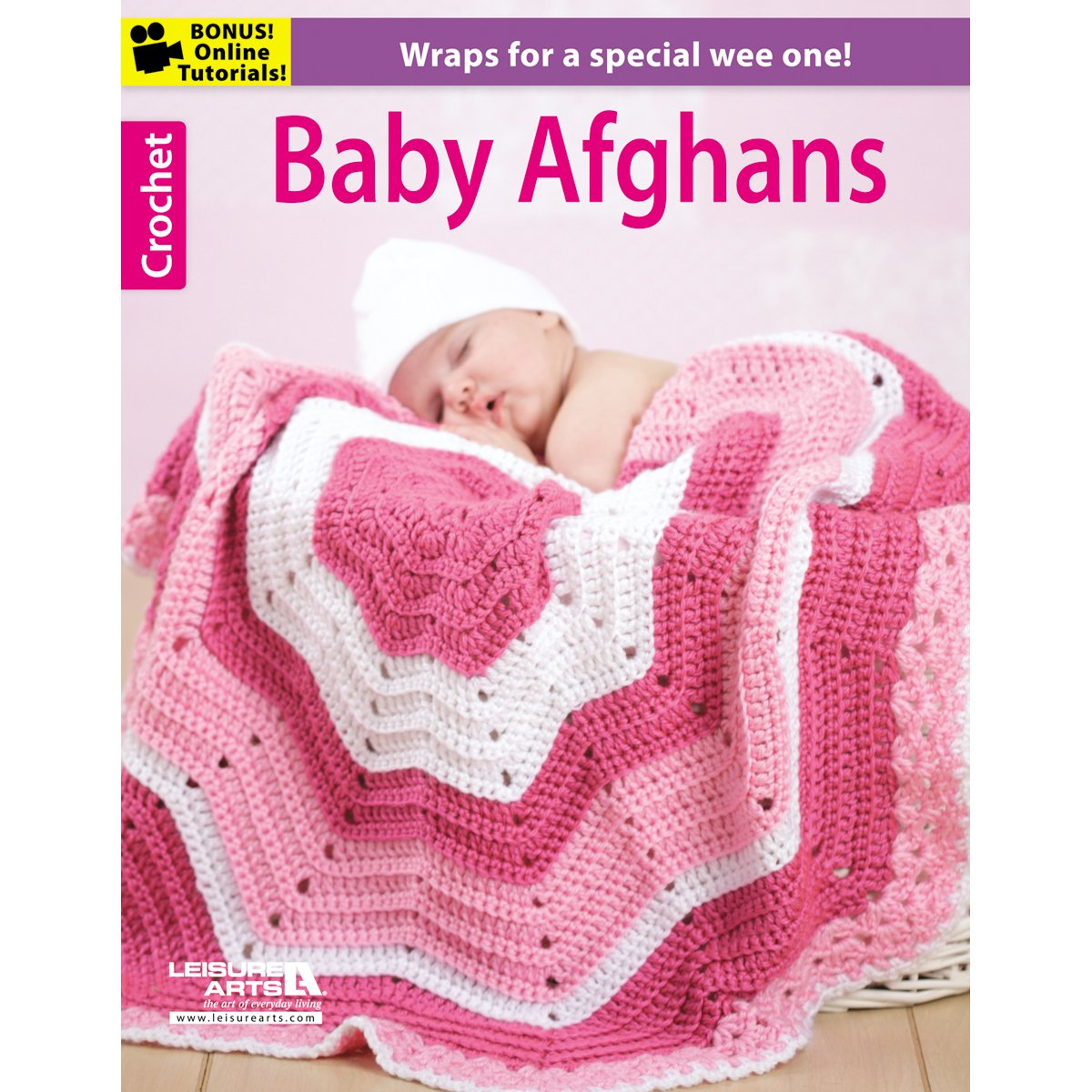 Leisure Arts Baby Afghans Knit