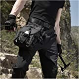 ANTARCTICA Waterproof Military Tactical Drop Leg Pouch Bag Type B Cross Over Leg Rig Outdoor Bike