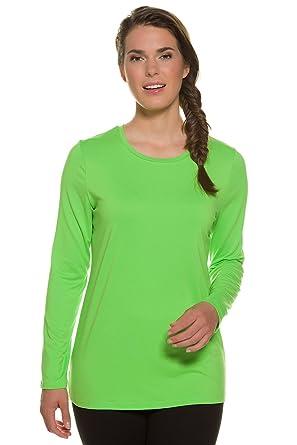 GINA LAURA Damen | Langarmshirt | Bascic Langarm Funktionsshirt | Laufshirt  Thermo, Atmungsaktiv mit Wärmespeicher