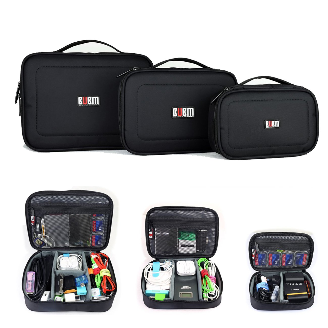 Amazon.com: BUBM Waterproof 3pcs/set Portable Electronic ...
