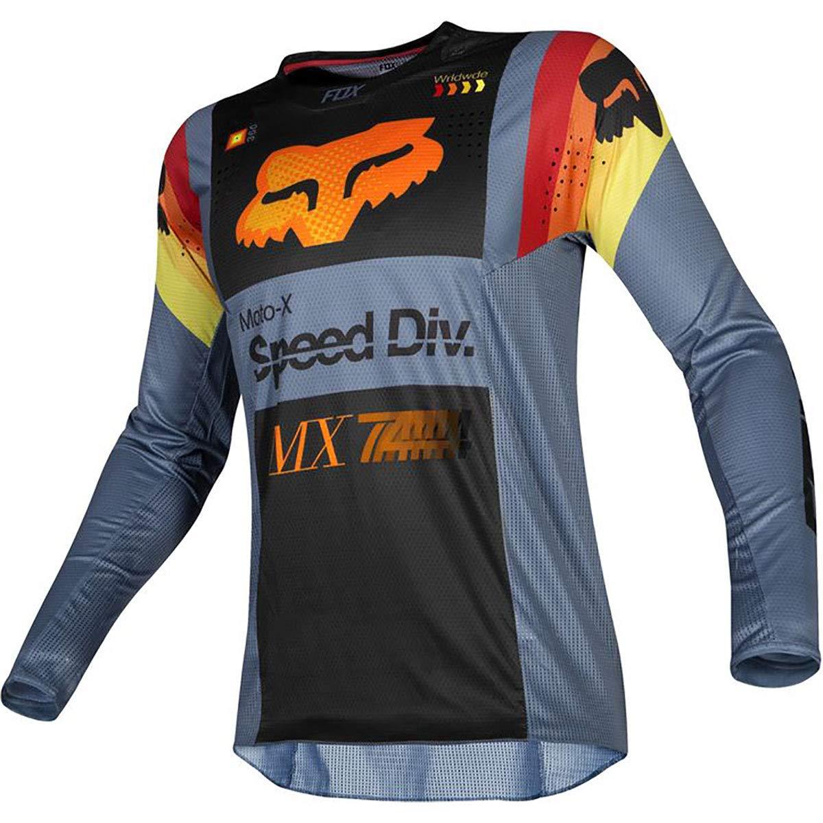 Fox Racing 2019 Youth 360 Murc Jersey-Blue Steel-YXL