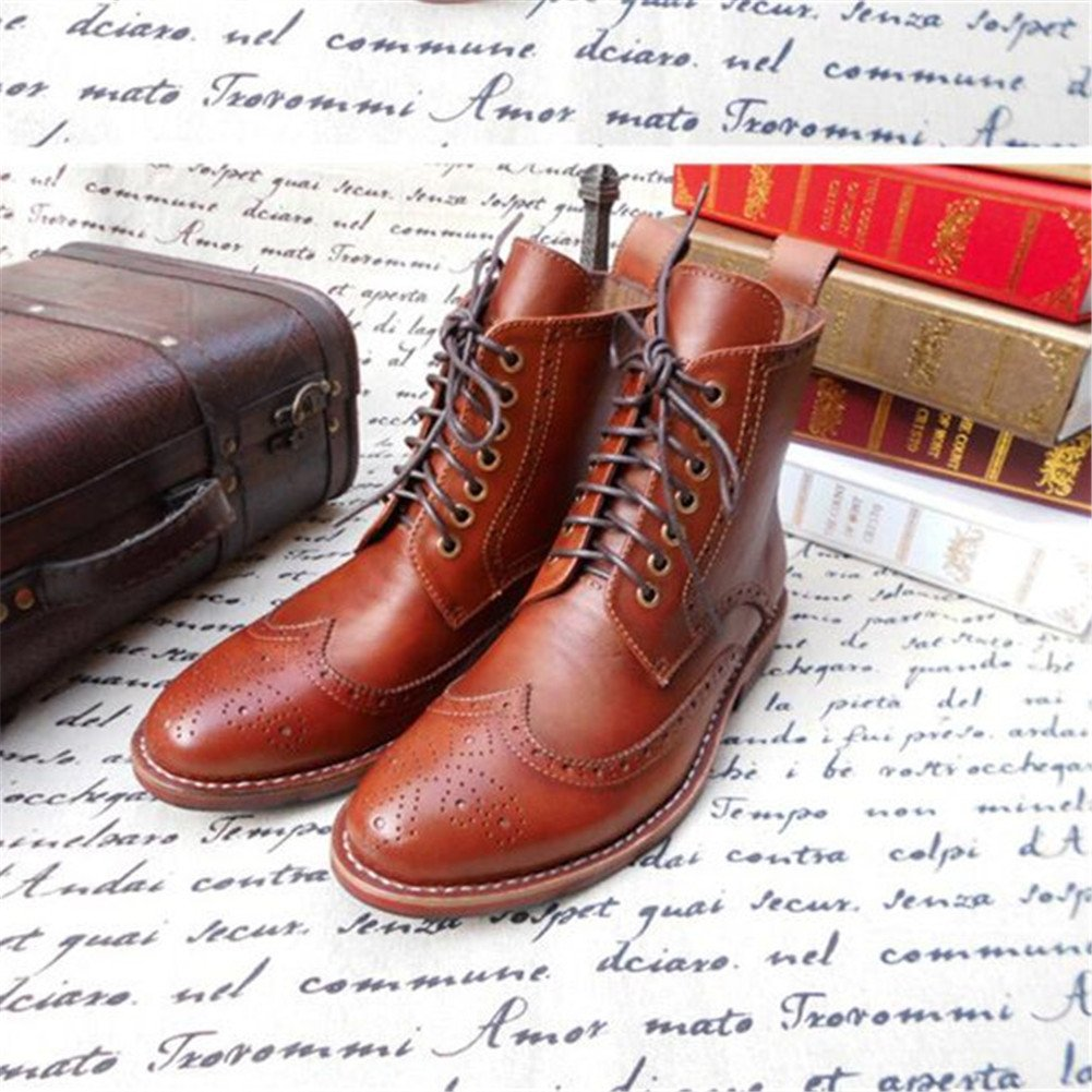 Amazon.com | Skyeshopping Mens Brogues Leather Oxfords ...