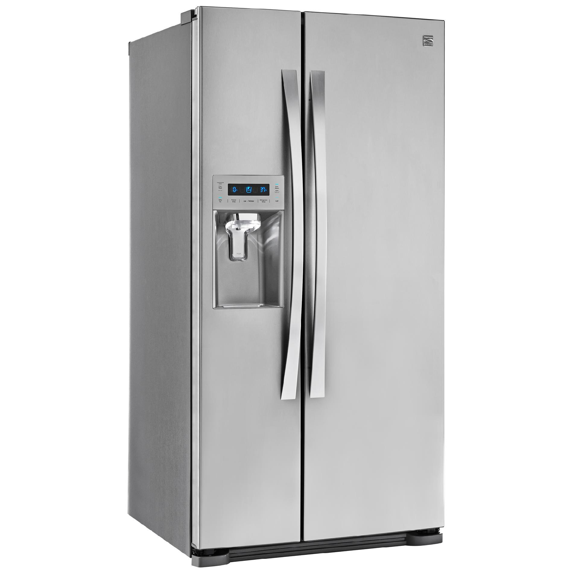 Kenmore Elite 51823 21.9 cu. ft. Side-by-Side Refrigerator in Stainless Steel, includes delivery and hookup (Available in select cities only) by Kenmore (Image #4)