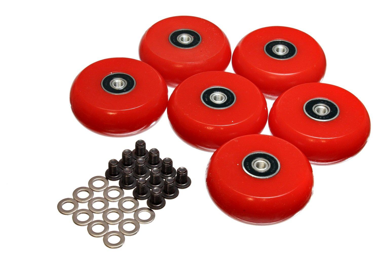 Energy Suspension 9.9172R 2-3/8''/60mm Creeper Wheel - Set of 6
