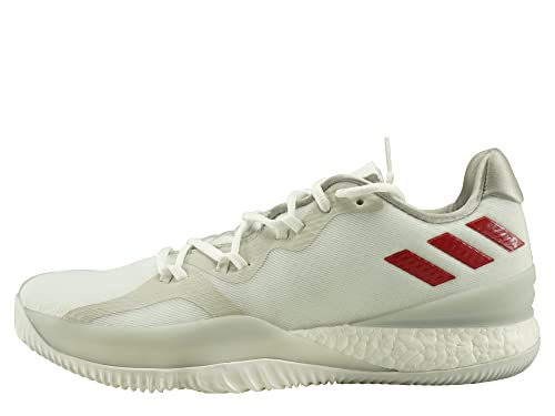 a4bd89744ad0f Adidas - Crazylight Boost 2018 - Color: White-Red - Size: 12.0US ...
