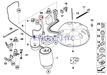 Wiring Diagram Self Leveling Pump System 2001 Bmw X5