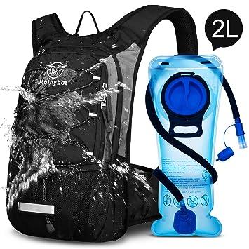 Amazon.com: Mothybot mochila de hidratación aislada con ...