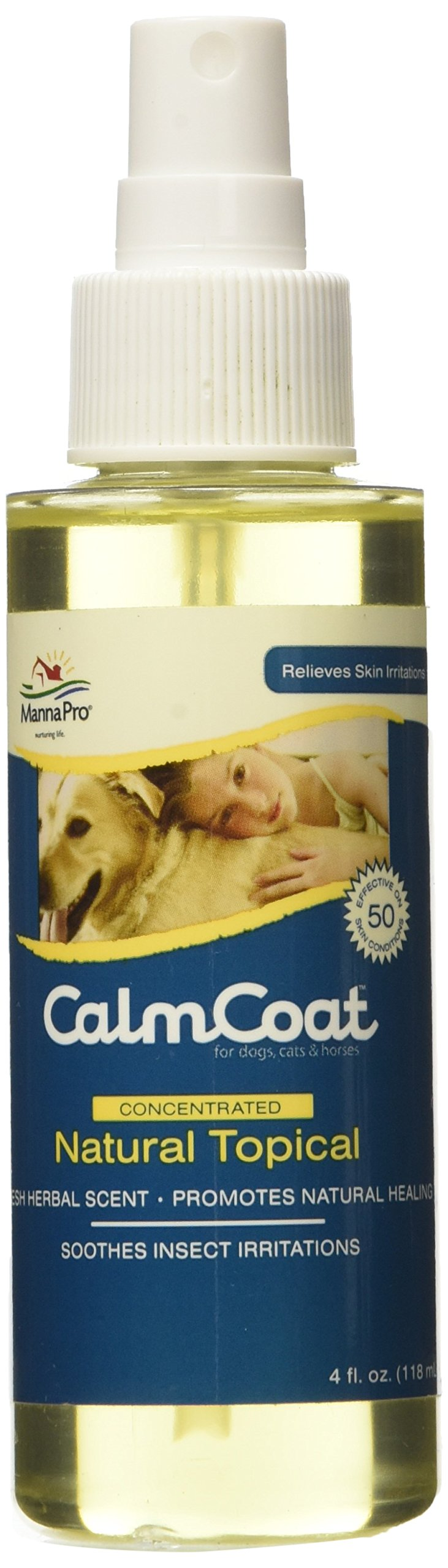 Manna Pro Calm Coat Topical Spray, 4 oz by Manna Pro