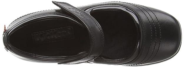 b383dfa2da4b7 Babies Kickers Keavy Bar pour fille en noir  Amazon.fr  Chaussures et Sacs