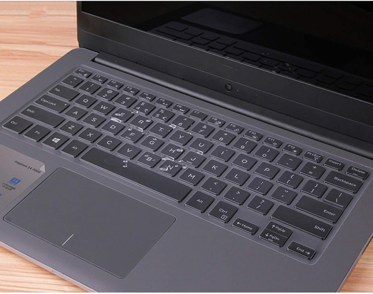 for Dell Inspiron 14 3000 5000 7000 Series 3467 5468 5480 7472 7447 14 Inch Keyboard Cover TPU Laptop Keyboard Protector Skin-in Keyboard Covers from Computer /& Office