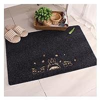 Doormat, Homecube 40 x 60 cm Fabric Non Slip Entrance Mat Clean Absorbent Anti Skid Cute Cartoon Design for Home Kitchen Bath Mats