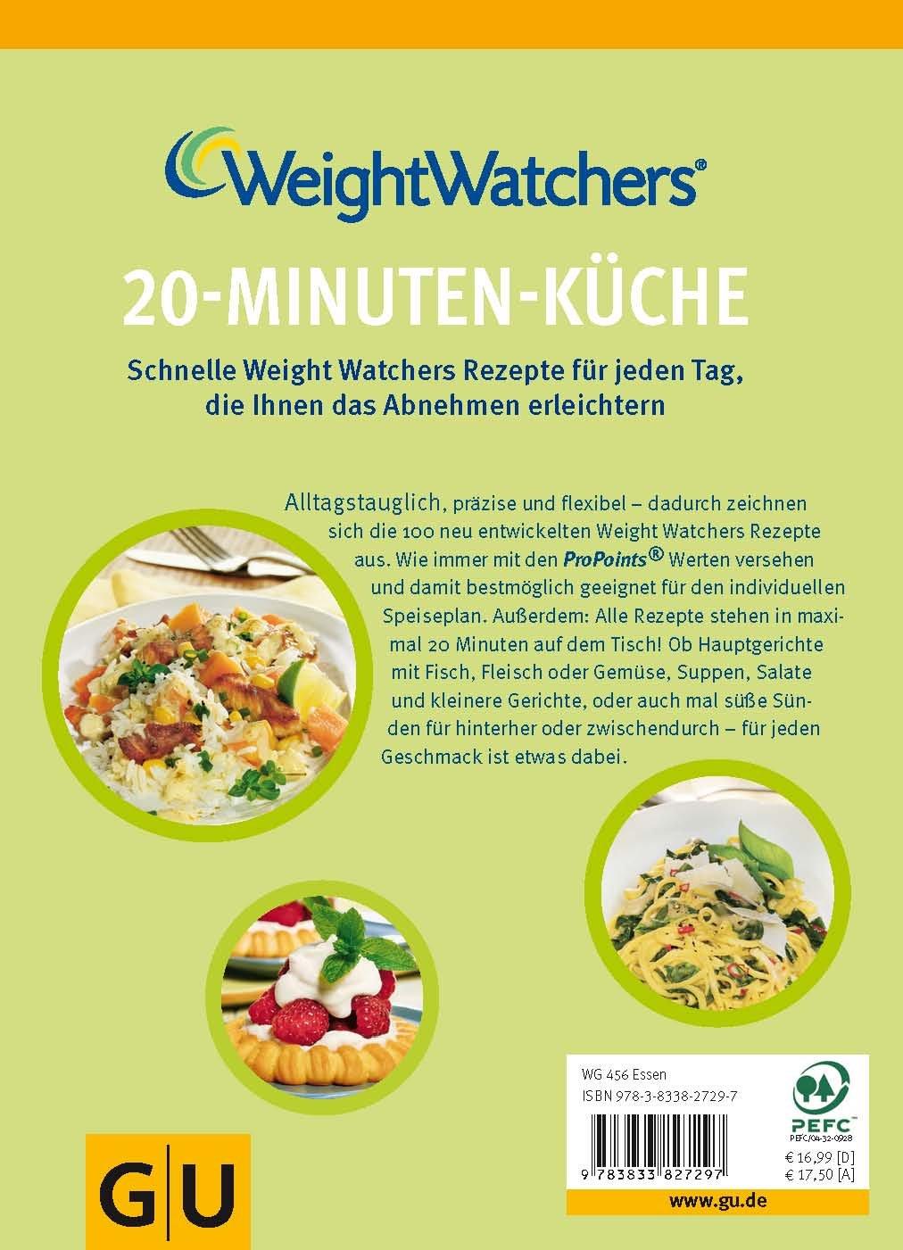 Weight Watchers 20-Minuten-Küche GU Diät&Gesundheit: Amazon.de ...