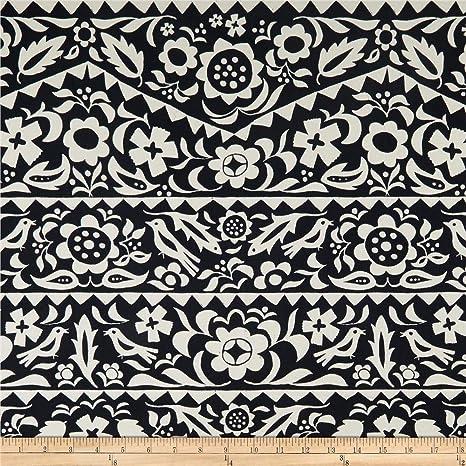 Indigo floral de algodón y acero, diseño de rayón de luna, tela por yarda: Amazon.es: Juguetes y juegos