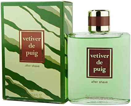 Vintage vetiver de Puig pour Homme 100 ml 3.4 FL oz – Aftershave