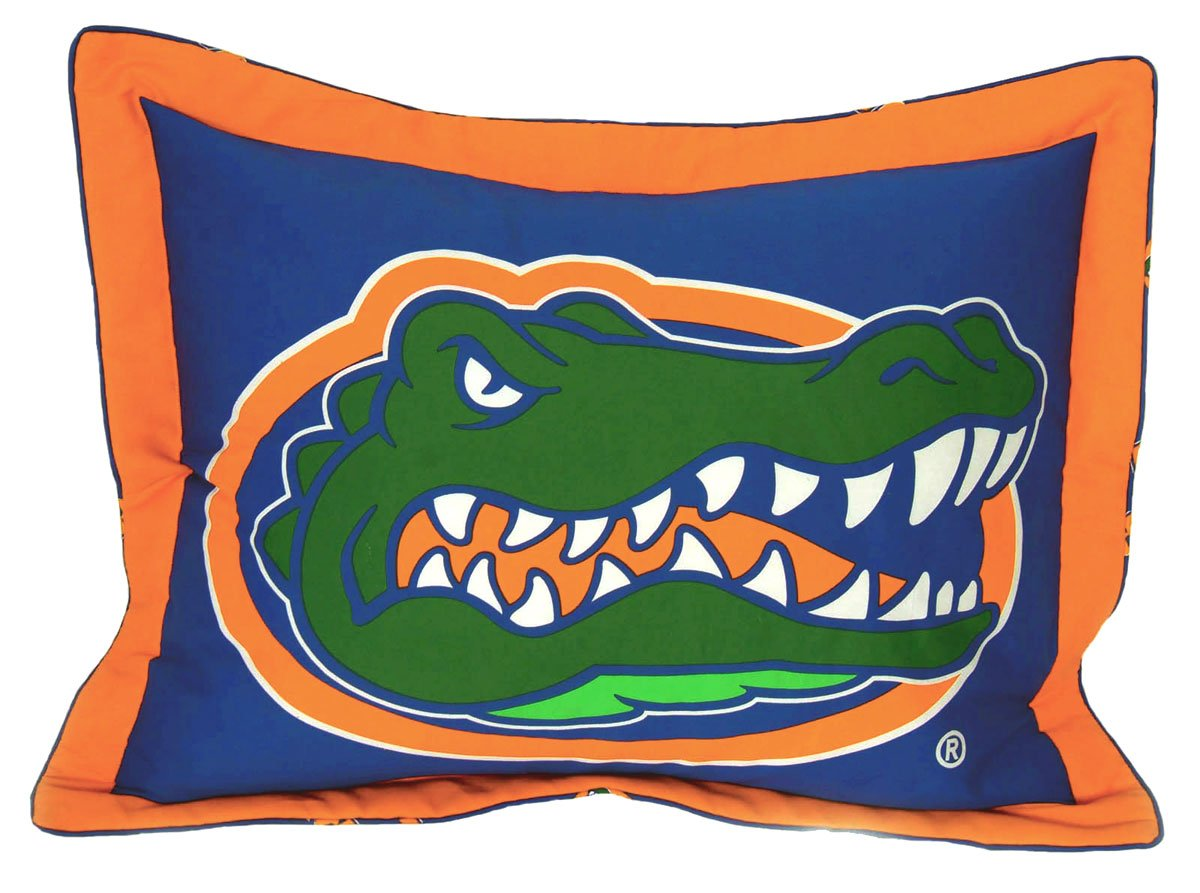 NCAA Florida Gators Collegiate 7pc Blue Queen Bedding Set