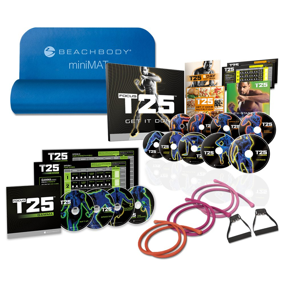 Shaun T's FOCUS T25 Deluxe Kit - DVD Workout by Beachbody