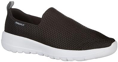 Skechers Performance Women's Go Joy Walking-Shoes, Black/White, ...
