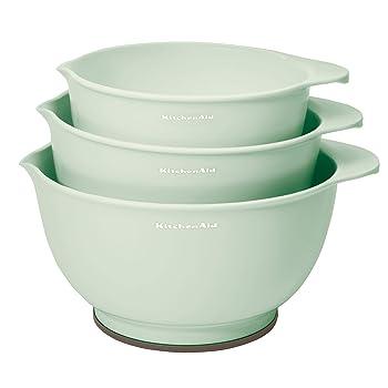 KitchenAid Classic Pistachio Mixing Bowls