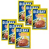 Old Bay Salmon Classic (Cake Mix), 1.34-Ounce Packages (Pack of 6)