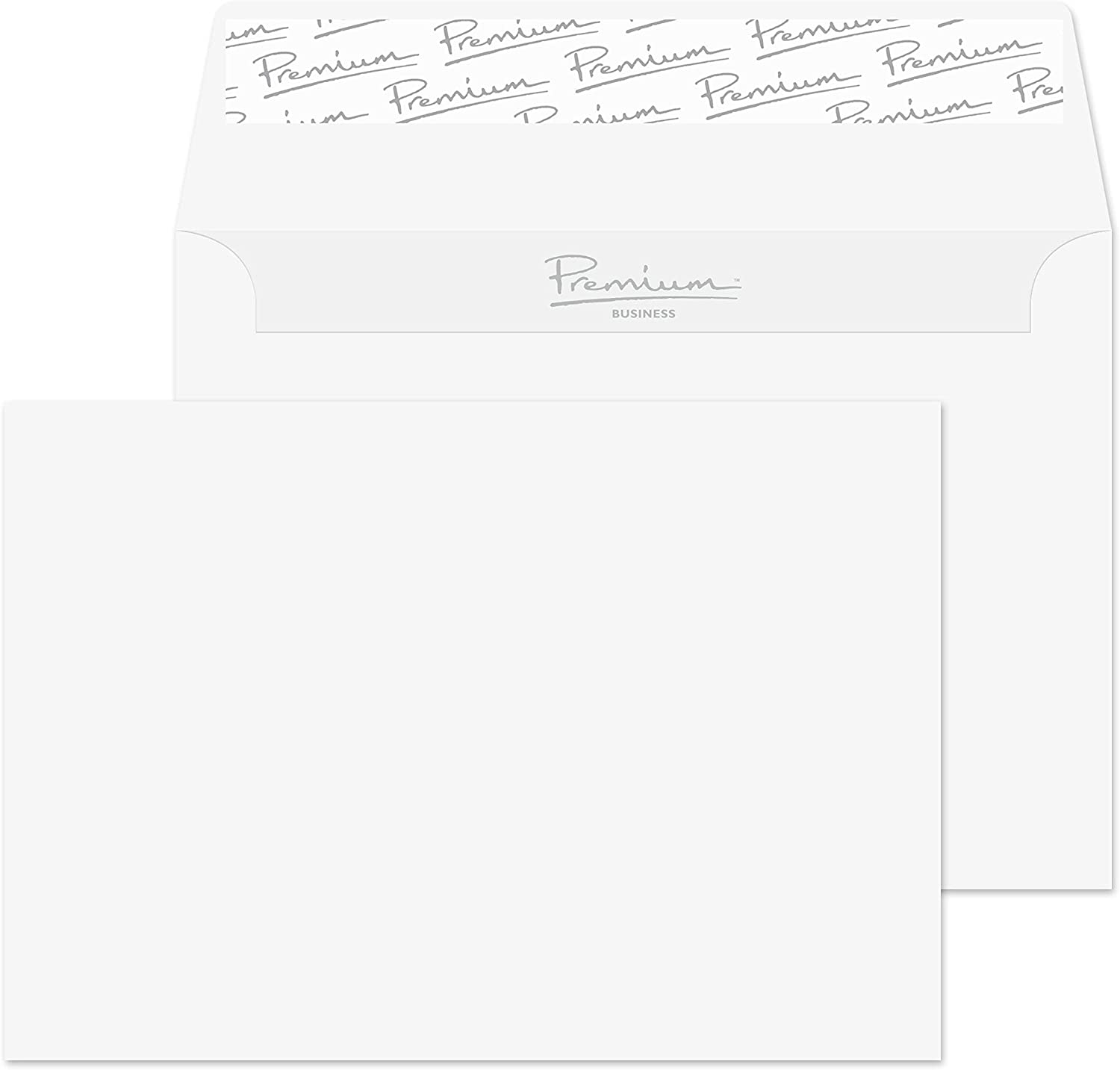 White Blake Purely Everyday C6 114 x 162 mm 90 GSM Self Seal Wallet Envelopes Pack of 500 2602//500