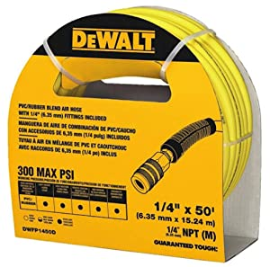 DeWalt DWFP1450D 50 ft. x 1/4 in. Air Hose