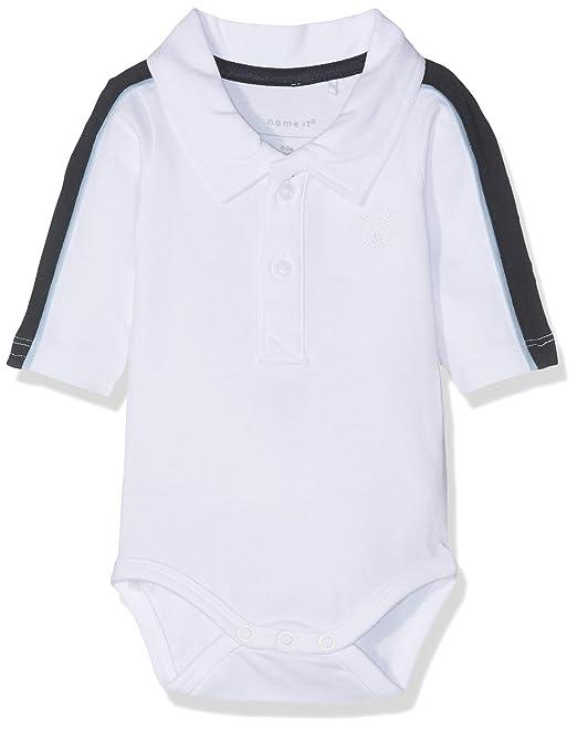 verfügbar zahlreich in der Vielfalt helle n Farbe Name It Baby Boys' Nbmhesonne Ls Polo Body Footies: Amazon ...